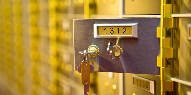 Safety Deposit Boxes Milton Keynes